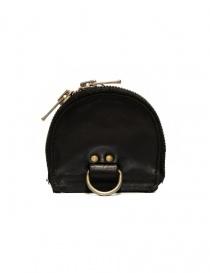 Guidi S01 black coin purse in horse leather price