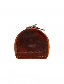 Wallets online: Guidi red coin purse in horse leather