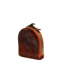 Guidi red coin purse in horse leather