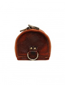 Guidi red coin purse in horse leather price