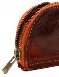 Guidi red coin purse in horse leather wallets price