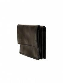Guidi WT01 mini double wallet in black kangaroo leather price