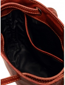 Guidi GD08 shoulder bag in red rump leather bags buy online