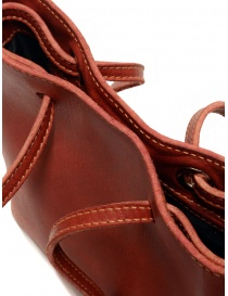 Guidi GD08 shoulder bag in red rump leather bags price