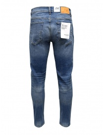Selected Homme jeans slim fit strappati colore blu medio