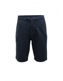 Selected Homme blue linen and cotton bermuda shorts online