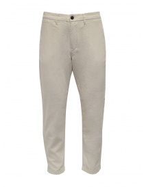 Selected Homme white linen and cotton pants online