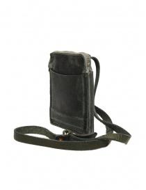 Guidi S04_RU shoulder bag in dark green leather