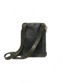 Guidi S04_RU shoulder bag in dark green leather price