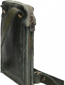 Guidi S04_RU shoulder bag in dark green leather bags buy online