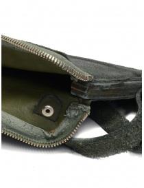 Guidi S04_RU shoulder bag in dark green leather bags price