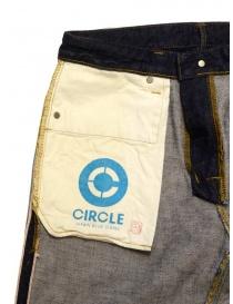 Japan Blue Jeans Circle dark blue jeans mens jeans price