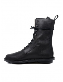 Trippen Concrete lace-up ankle boot with metal hooks