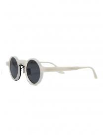 Kuboraum Maske N3 occhiali da sole tondi bianchi