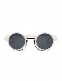 Occhiali online: Kuboraum Maske N3 occhiali da sole tondi bianchi