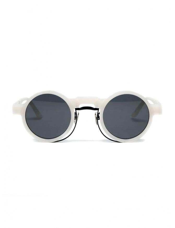 Kuboraum Maske N3 white round sunglasses N3 44-27 CM 2GRAY glasses online shopping