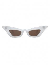 Kuboraum Y7 PL occhiali a gatto color perla lenti marroni online