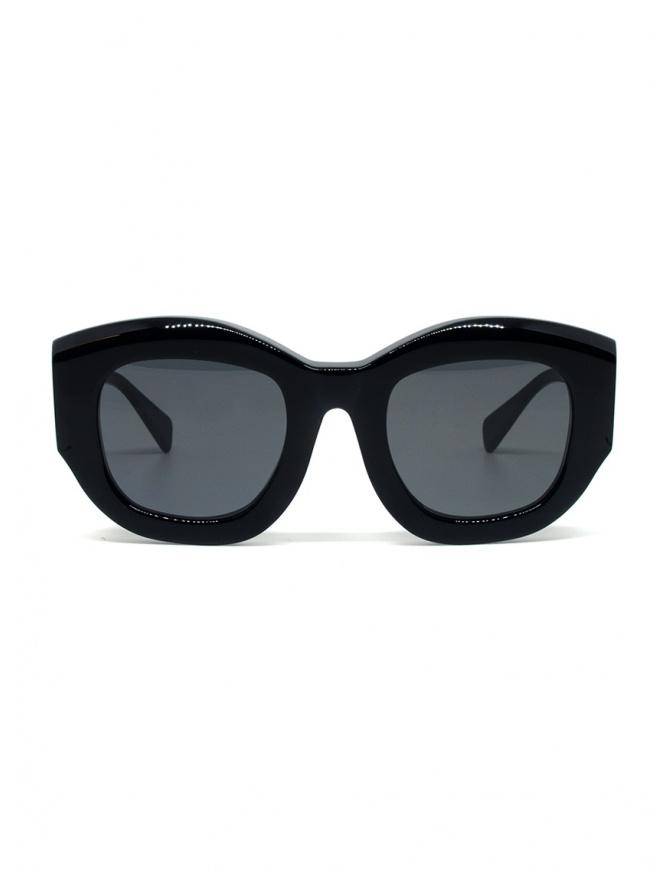 Kuboraum B5 black sunglasses with grey lenses B5 50-24 BM 2GRAY glasses online shopping