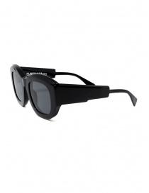 Kuboraum B5 black sunglasses with grey lenses