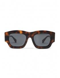 Kuboraum Maske C8 54-21 occhiali tartaruga con lenti grigie online