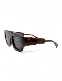 Kuboraum Maske C8 54-21 occhiali tartaruga con lenti grigie