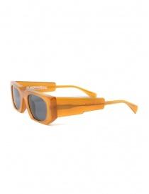 Kuboraum U8 occhiali da sole caramello con lenti grigie
