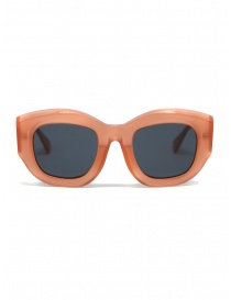 Kuboraum B5 grapefruit sunglasses with grey lenses online