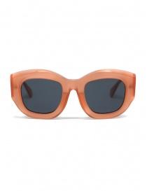 Occhiali online: Kuboraum B5 occhiali da sole color pompelmo lenti grigie