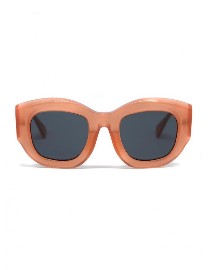 Kuboraum B5 grapefruit sunglasses with grey lenses B5 50-24 GF 2GRAY glasses online shopping