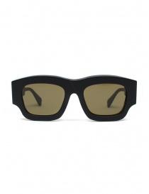 Kuboraum matte black sunglasses C8 54-21 with brown lenses online
