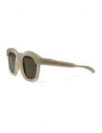 Kuboraum K7 AR occhiali da sole quadrati color carciofo