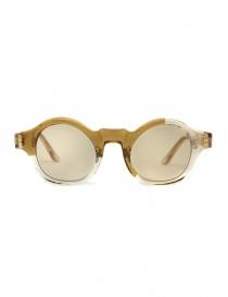 Kuboraum L4 sunglasses transparent sand color with light brown lenses online