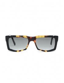 Kuboraum K22 occhiali da sole rettangolari tartarugati lenti grigie online