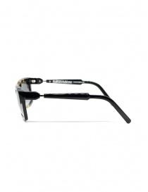 Kuboraum K22 occhiali da sole rettangolari tartarugati lenti grigie prezzo