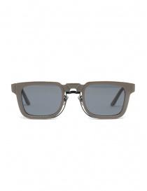 Kuboraum N4 grey square sunglasses with grey lenses online