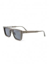 Kuboraum N4 grey square sunglasses with grey lenses