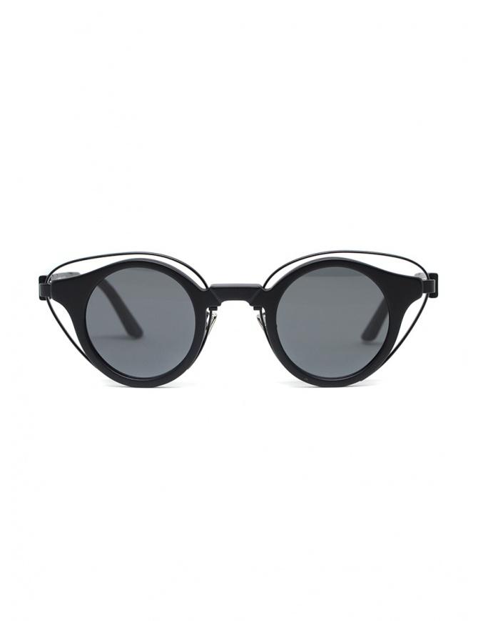 Kuboraum N10 round sunglasses with grey lenses N10 41-26 BB GRAY glasses online shopping