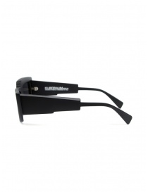 Kuboraum X11 occhiali da sole rettangolari asimmetrici neri prezzo