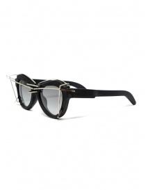 Kuboraum Y2 BM AI occhiali da sole con decorazioni metalliche