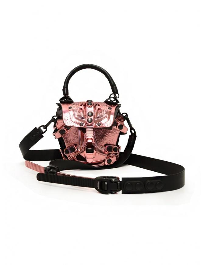 Innerraum metallic pink mini shoulder bag I83 MET.ROSE/BK MINI FLAP bags online shopping