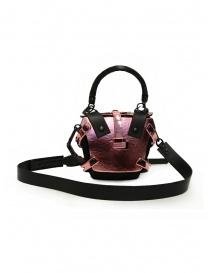 Innerraum mini bag rosa metallizzato a tracolla