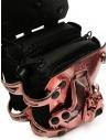 Innerraum metallic pink mini shoulder bag price I83 MET.ROSE/BK MINI FLAP shop online