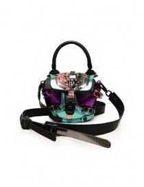 Borse online: Innerraum borsetta metallizzata a tracolla rosa, viola, pavone