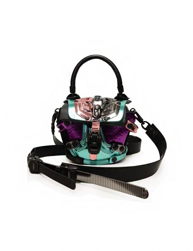 Innerraum metallic pink, purple, peacock shoulder bag I83 MIX/BK/PV MINI FLAP bags online shopping