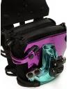 Innerraum metallic pink, purple, peacock shoulder bag price I83 MIX/BK/PV MINI FLAP shop online