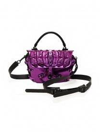 Borse online: Innerraum 189 New Flap Bag borsetta a tracolla viola metallizzato