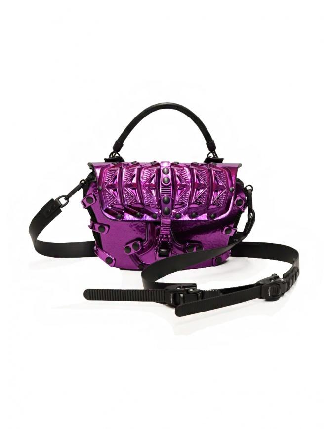 Innerraum 189 New Flap Bag metallic purple shoulder bag I89 MET.PURPLE/BK NEW FLAP bags online shopping