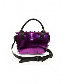 Innerraum 189 New Flap Bag metallic purple shoulder bag