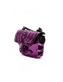 Innerraum 189 New Flap Bag metallic purple shoulder bag price
