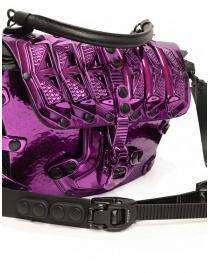 Innerraum 189 New Flap Bag metallic purple shoulder bag bags price